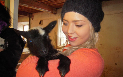 Veterinary student Katriina considers helping her peers as her life goal